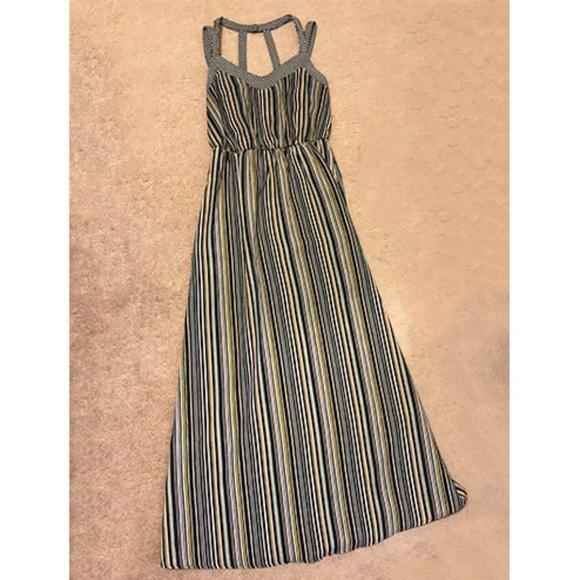 Xhilaration Dresses & Skirts - Multi-color Striped Maxi Dress